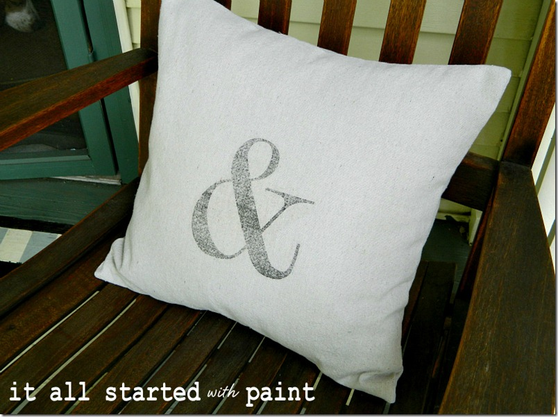 ampersand-pillow-iron-on-transfer-drop-cloth